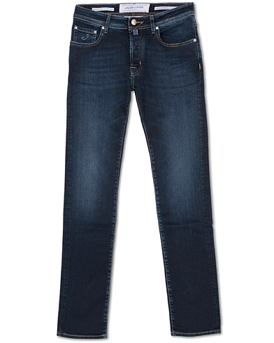 Jacob Cohën 688 Slim Fit Jeans Dark Blue i gruppen Kläder / Jeans hos Care of Carl (16563511r)