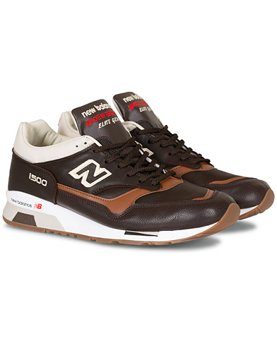 New Balance Made in England 1500 Sneaker  Brown i gruppen Skor / Sneakers hos Care of Carl (16574811r)
