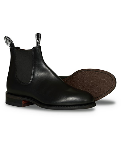 R.M.Williams Wentworth G Boot Yearling Black