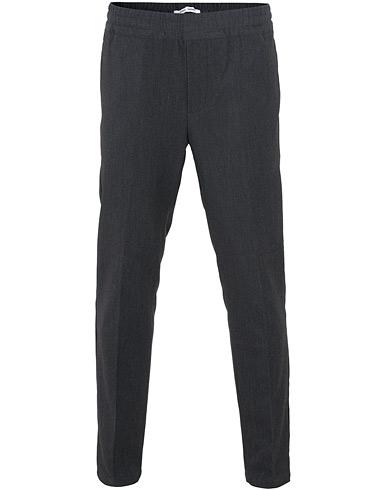 Samsøe & Samsøe Smithy Trousers Dark Grey Melange