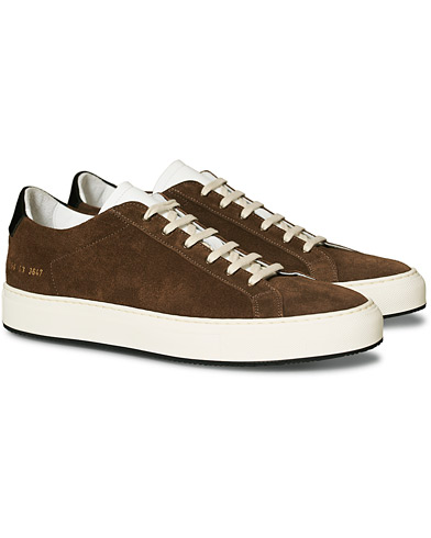 Common Projects Retro Special Edition Achilles Sneaker Brown Suede i gruppen Skor / Sneakers hos Care of Carl (16697211r)