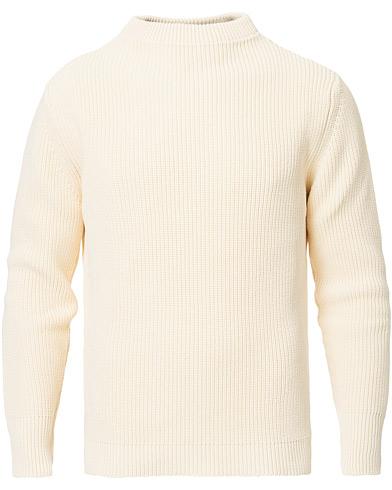 Andersen-Andersen Organic Cotton Crewneck Off White