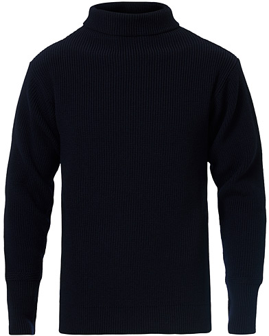 Andersen-Andersen Sailor Turtleneck Navy Blue