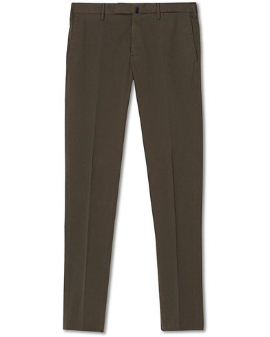 Incotex Slim Fit Stretch Chinos Dark Brown