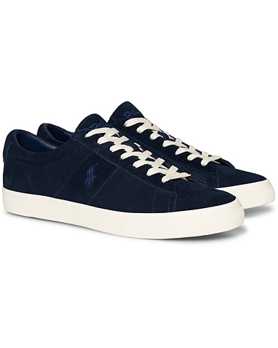 Polo Ralph Lauren Sayer Perforated Sneaker Navy Suede
