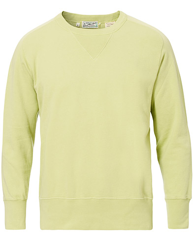Levi's Vintage Clothing Bay Meadows Crew Neck Sweatshirts Apple Green i gruppen Kläder / Tröjor / Sweatshirts hos Care of Carl (16823811r)
