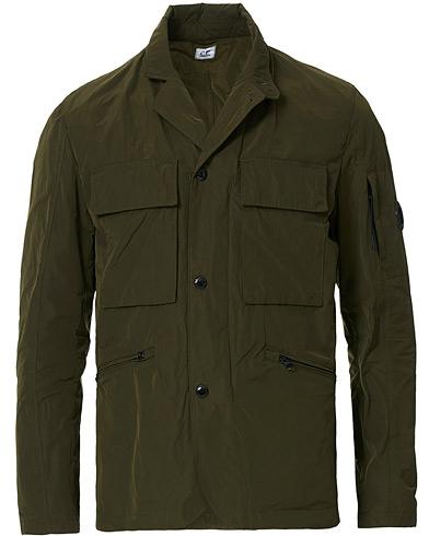 C.P. Company Memri Lens Blazer Jacket Dark Green
