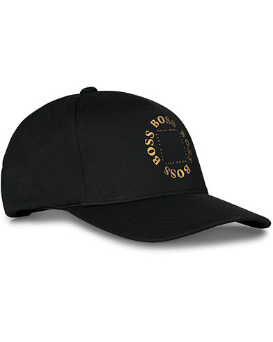 BOSS Athleisure Circle Cap Black/Gold  i gruppen Accessoarer / Hattar & kepsar hos Care of Carl (16961910)