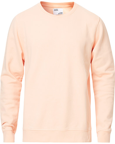 Colorful Standard Classic Organic Crew Neck Sweat Paradise Peach i gruppen Kläder / Tröjor / Sweatshirts hos Care of Carl (16984111r)