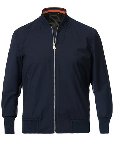 Paul Smith Bomber Jacket Navy i gruppen Kläder / Jackor / Bomberjackor hos Care of Carl (17043911r)
