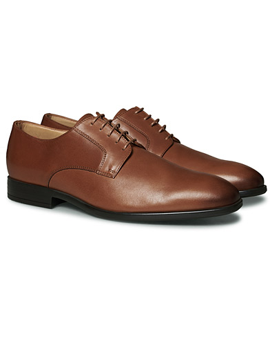 PS Paul Smith Daniel Rubber Sole Oxford Tan Calf i gruppen Skor / Derbys hos Care of Carl (17045911r)