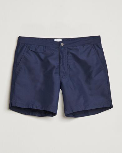 Sunspel Recycled Seaqual Swim Shorts Navy