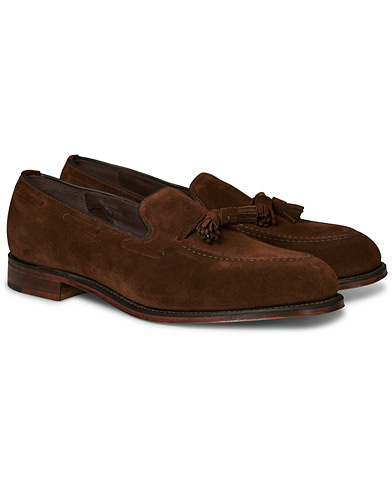 Loake 1880 Russell Tassel Loafer Polo Oiled Suede i gruppen Skor / Loafers hos Care of Carl (17077211r)