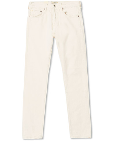 C.O.F. Studio M7 Tapered Stretch Jeans Cotton Beige i gruppen Kläder / Jeans hos Care of Carl (17092511r)