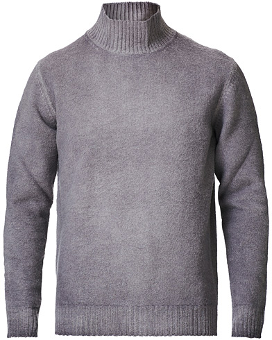 Altea Brushed Wool Turtleneck Grey