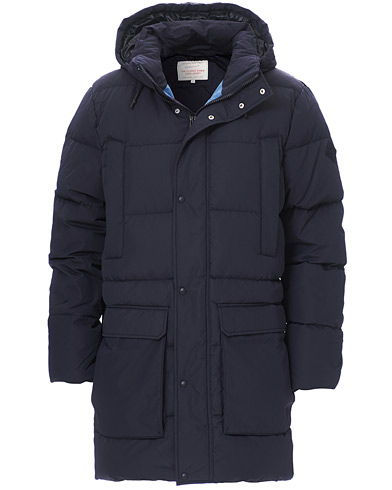 GANT The Long Alta Down Jacket Evening Blue i gruppen Kläder / Jackor / Dunjackor hos Care of Carl (19378711r)