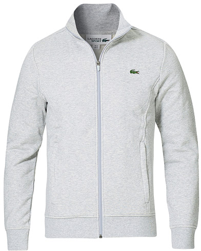Lacoste Full Zip Sweater Argent Chine i gruppen Kläder / Tröjor / Zip-tröjor hos Care of Carl (19754911r)