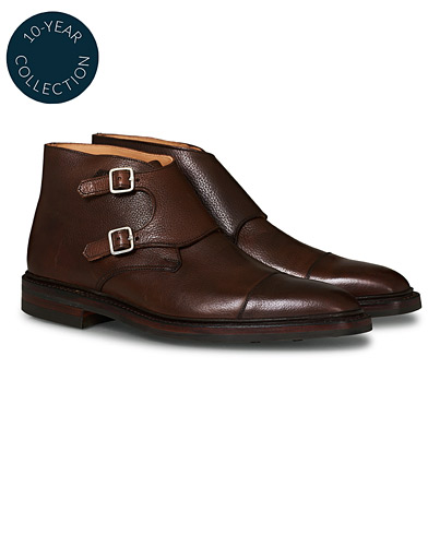 Crockett & Jones x Tärnsjö Garveri Camberley Scotch Grain Dainite Dark Brown