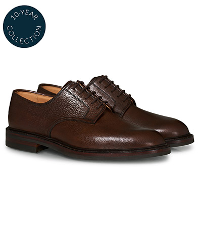 Crockett & Jones x Tärnsjö Garveri Grasmere Country Grain Dainite Dark Brown