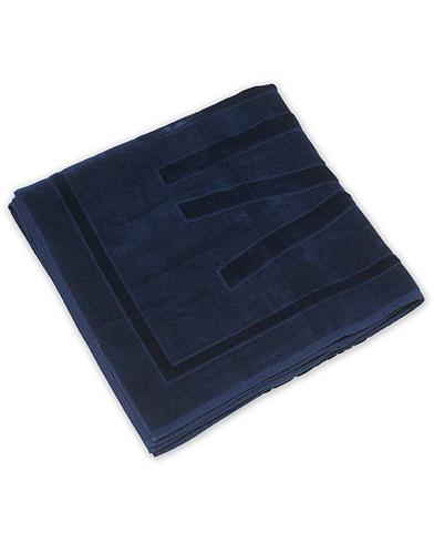 Vilebrequin Terry Cloth Beach Towel Bleu Marine