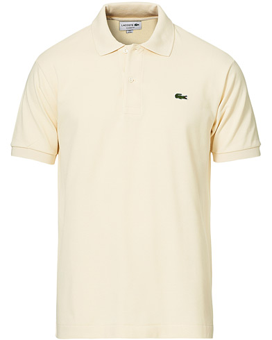 Lacoste Original Polo Piké Light Natural i gruppen Kläder / Pikéer / Kortärmade pikéer hos Care of Carl (20401811r)