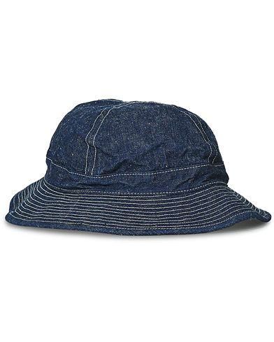 orSlow US Navy Hat Denim i gruppen Accessoarer / Hattar & kepsar / Hattar hos Care of Carl (20411410)