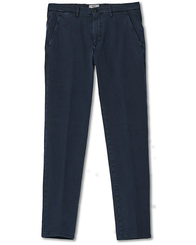 Briglia 1949 Slim Fit Cotton Chinos Navy i gruppen Kläder / Byxor / Chinos hos Care of Carl (20555611r)