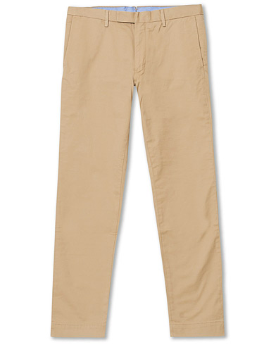 Polo Ralph Lauren Slim Fit Stretch Chinos Classic Khaki i gruppen Kläder / Byxor / Chinos hos Care of Carl (20577411r)