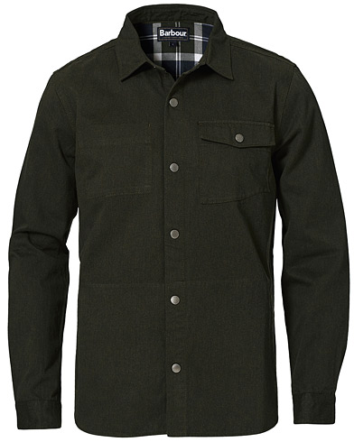 Barbour Lifestyle Mortan Overshirt Sage i gruppen Kläder / Skjortor / Casual / Overshirts hos Care of Carl (20686211r)