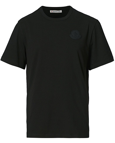 Moncler Maglia Backprint Crew Neck Tee Black i gruppen Kläder / T-Shirts / Kortärmade t-shirts hos Care of Carl (20727711r)