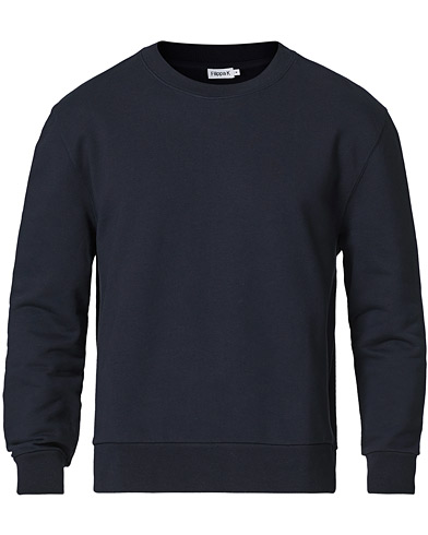 Filippa K Gustaf Cotton Sweatshirt Navy i gruppen Kläder / Tröjor / Sweatshirts hos Care of Carl (20745111r)