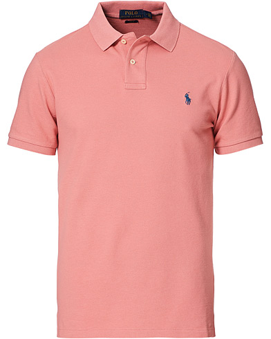 Polo Ralph Lauren Slim Fit Polo Desert Rose i gruppen Kläder / Pikéer / Kortärmade pikéer hos Care of Carl (20778411r)