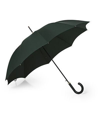 Fox Umbrellas Hardwood Automatic Umbrella Racing Green