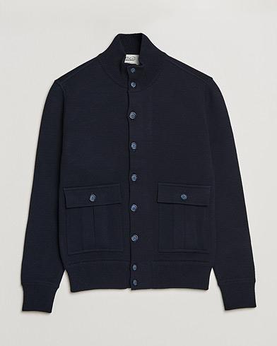 Valstar Valstarino Merino Wool Jacket Navy