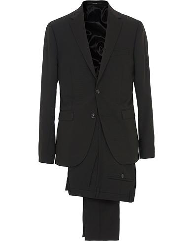 Henrie Wool Stretch Suit Black