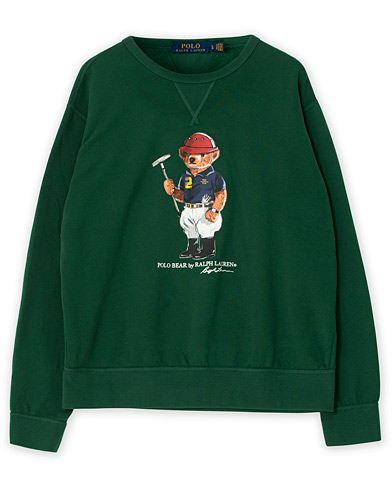 Polo Ralph Lauren Printed Bear Crew Neck Sweatshirt New Forest L i gruppen Care of Carl Pre-owned hos Care of Carl (V15424014001)