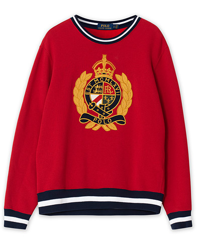 Polo Ralph Lauren Crest Sweatshirt Red L i gruppen Care of Carl Pre-owned hos Care of Carl (V15613113001)