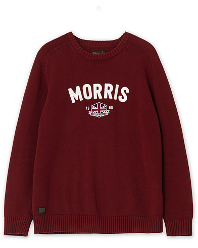 Morris Benton Knitted Crew Neck Wine Red XXL i gruppen Care of Carl Pre-owned hos Care of Carl (V16330915001)