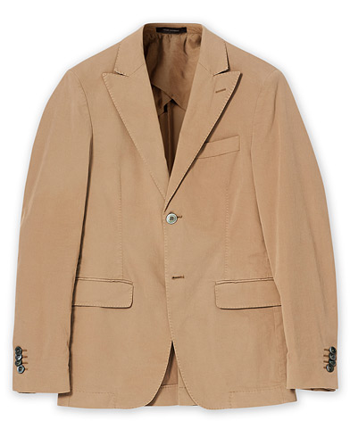 Oscar Jacobson Ever Cotton Blazer Beige 44 i gruppen Care of Carl Pre-owned hos Care of Carl (V17083411001)
