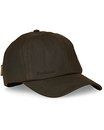 Barbour Lifestyle Wax Sports Hat Olive