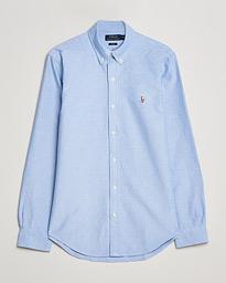 Polo Ralph Lauren Slim Fit Shirt Oxford Blue hos CareOfCarl.com eeb2e3218