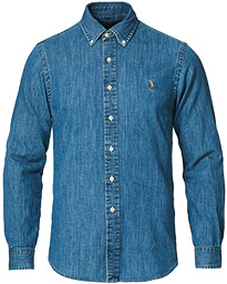 Polo Ralph Lauren Slim Fit Shirt Denim Dark Wash