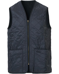 Barbour Lifestyle Quilt Waistcoat/Zip-In Liner Navy