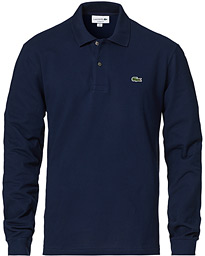 Lacoste Long Sleeve Polo Navy