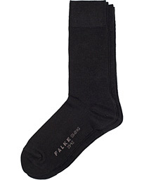 Swing 2-Pack Socks Black