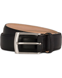 Henry Leather Belt 3,3 cm Black
