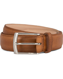 Henry Leather Belt 3,3 cm Tan