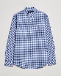 5ba0bd950878 Polo Ralph Lauren Slim Fit Shirt Oxford Blue/White Gingham