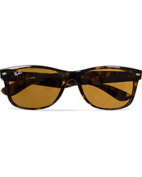 New Wayfarer Sunglasses Light Havana/Crystal Brown