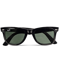 Original Wayfarer Sunglasses Black/Crystal Green